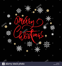 merry christmas modern red handwritten calligraphic inscription merry christmas with