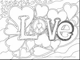 fabulous printable valentine hearts coloring pages love