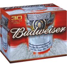 how much is a 30 pack of bud light bud 30 pk