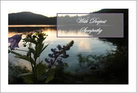 free sympathy cards purple flower sympathy card freeprintfactory s