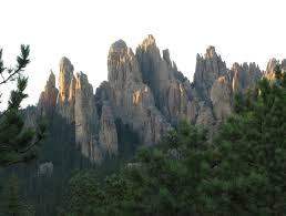 South Dakota mountains images Sky piercing granite spires on needles mountain in south dakota jpg