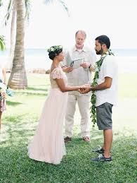 Hawaiian Wedding Dresses Colorful Vintage Hawaiian Wedding At Olowalu Plantation House