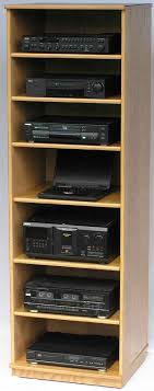 Audio Cabinets With Glass Doors Stereo Cabinet Entertainment Centers Factory Direct Oak Maple