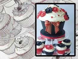 gerbera wedding cake u0026 cupcake tower kitchen fever with thecakediva
