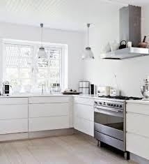 modern kitchen without cabinets design of the modern white kitchen without cabinets
