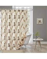 Zoological Shower Curtain Savings On Kids A To Z Shower Curtain Multi Colored
