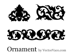 ornament free vector 123freevectors