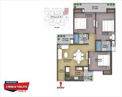 victory gold24 floor plan 2 3 bhk apartments nh 24 ghaziabad
