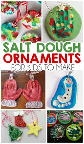 Easy Homemade Christmas Ornaments by 27 Christmas Salt Dough Ornaments For Kids I Heart Arts N Crafts