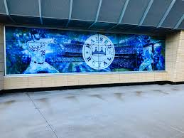 kansas city royals wall wrap at kauffman stadium we were beyond happy to help out and provide the players fans and everyone that comes out to the stadium this year with a simple remembrance and tribute