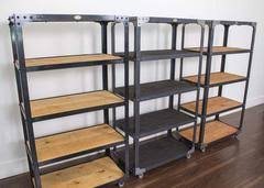 Industrial Bookcases Industrial Bookcase Aircraft Factory Tool Shelf Retroworks