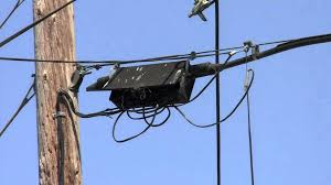 black box and messy wires on a telephone pole youtube