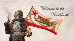 California Bear Flag Republic Welcome To The Wasteland New California Republic Flag Bear Flag