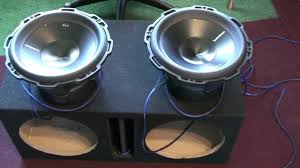 how to wire subwoofers to 1ohm youtube