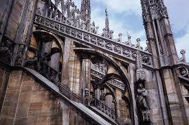 flying buttress milan cathedral project