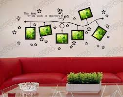 word wall decorations memory photo frame wall art word stickers