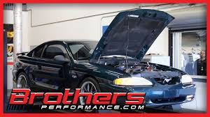 1995 mustang gt 5 0 manual transmission dyno test at brothers
