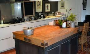 hauteur ilot central cuisine bar ilot cuisine ilot cuisine industriel montpellier with
