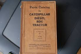 cat caterpillar rd6 tractor dozer crawler parts manual book