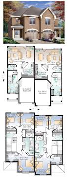 multifamily house plans integrated multi family house plans homes zone