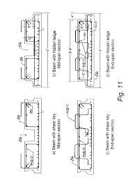 patent us8671634 shallow flat soffit precast concrete floor