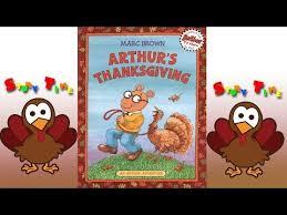 arthur s thanksgiving book arthur s thanksgiving story book giving