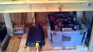 solar power setup for my shed harbor freight solar panels and