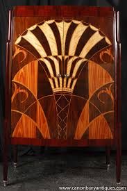 art deco drinks cabinet art deco cocktail drinks cabinet chest 1920s inlay
