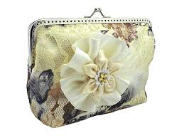bride handbag bridal ivory lace clutch bag womens purse bag