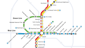 Green Line Map Chicago by Introducing The Hypothetical Marta Greenline Loop Curbed Atlanta