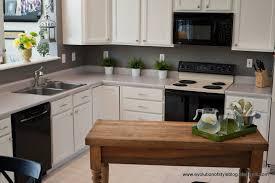 oak kitchen reveal from builder grade to custom made evolution