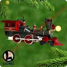 2000 lionel 5 general steam locomotive hallmark ornament at hooked