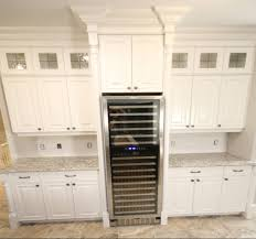 kitchen built in wine fridge toronto custom concepts kitchens