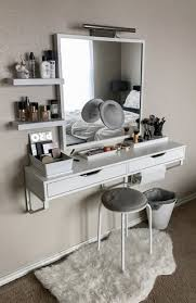 Bedroom Vanity Plans My Battle Station Makeupaddiction Makeup Vanity Ikea
