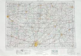 Fort Wayne Zip Code Map by Free U S 250k 1 250000 Topo Maps Beginning With