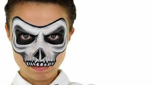 halloween baby face mask skull face painting ashlea henson youtube