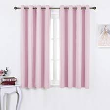 blackout curtains childrens bedroom amazon com nicetown blackout curtains for girls room thermal
