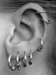 ear piercing studs ear piercings styles to step up your