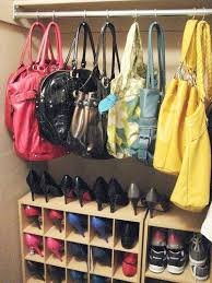Bedroom Organizing Tips by 82 Best Bag Storage Images On Pinterest Handbag Storage Closet