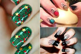 50 christmas nail art ideas you must try