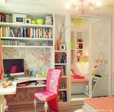 Small Bedroom For Two Girls Bedroom Lovely Teenage Bedroom For Two With Pale Pink Wall Paint