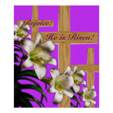 Christian Easter Decorations Uk by Religious Easter Personalised Posters U0026 Prints Zazzle Co Uk