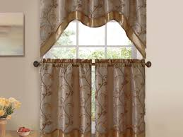 Material For Kitchen Curtains by Kitchen 54 Modern Kitchen Curtains For Bay Window With Round