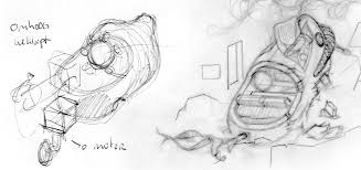 workflow idea sketch outline and shading evaluation