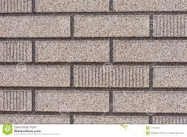 panneau fausse brique voie de garage grise fausse de mur de briques photo libre de