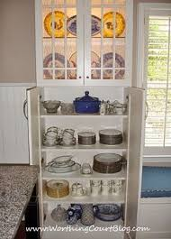 Kitchen Dish Cabinet Worthingcourt Blogspot Com Shallow Cabinet To Hide Electrical