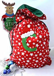 diy gifts santa sack two ways santa sack silhouettes and cricut