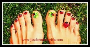 nail art designs ladybug