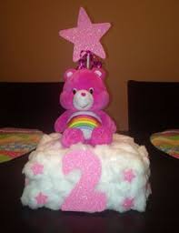 Centerpieces For Birthday by Care Bear Themed Birthday Party By Partystylingsofmandy On Etsy