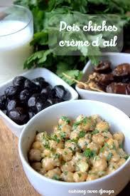 comment cuisiner des pois chiches pois chiches crème d ail et persil recettes faciles recettes